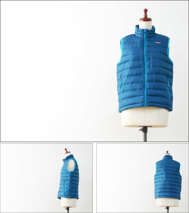 【再入荷】patagonia [パタゴニア正規代理店] BOY\'S DOWN SWEATER VEST [68221] LADY\'S_f0051306_18442208.jpg