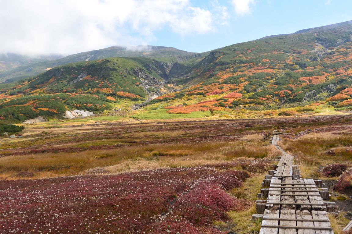 """2016年9月 『赤に染まる大雪山』 September 2016 \""""Red Mountains\""""_c0219616_18262583.jpg"""