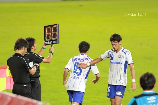 栃木SC vs ガンバ大阪U-23 ~3年前の悪夢を払拭~ in グリーンスタジアム_e0227942_00160184.jpg