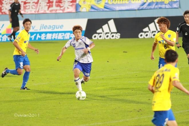 栃木SC vs ガンバ大阪U-23 ~3年前の悪夢を払拭~ in グリーンスタジアム_e0227942_00170119.jpg