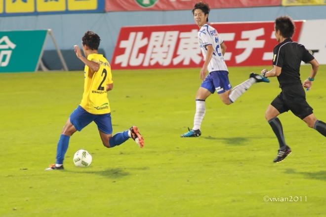 栃木SC vs ガンバ大阪U-23 ~3年前の悪夢を払拭~ in グリーンスタジアム_e0227942_00230897.jpg