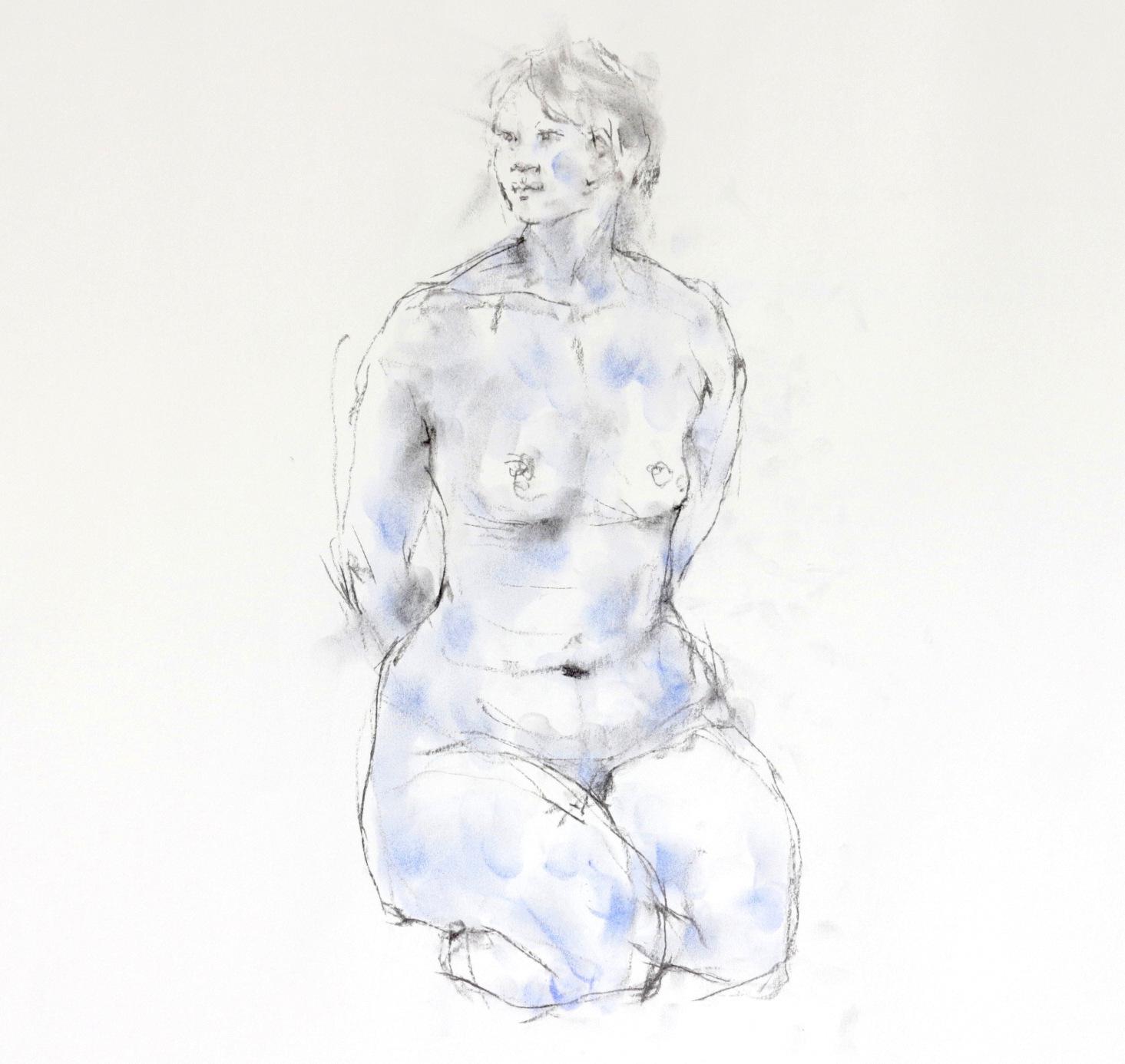 《 裸婦素描 1 》_f0159856_08473687.jpg