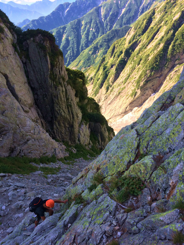 剱岳八ツ峰-北方稜線 Alpine Scrambling at Mt.Tsurugi Day.2 2016/09/01-03_b0220886_16421064.jpg