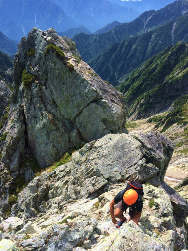 剱岳八ツ峰-北方稜線 Alpine Scrambling at Mt.Tsurugi Day.2 2016/09/01-03_b0220886_1735462.jpg