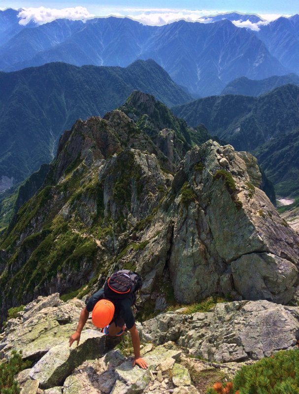 剱岳八ツ峰-北方稜線 Alpine Scrambling at Mt.Tsurugi Day.2 2016/09/01-03_b0220886_174866.jpg