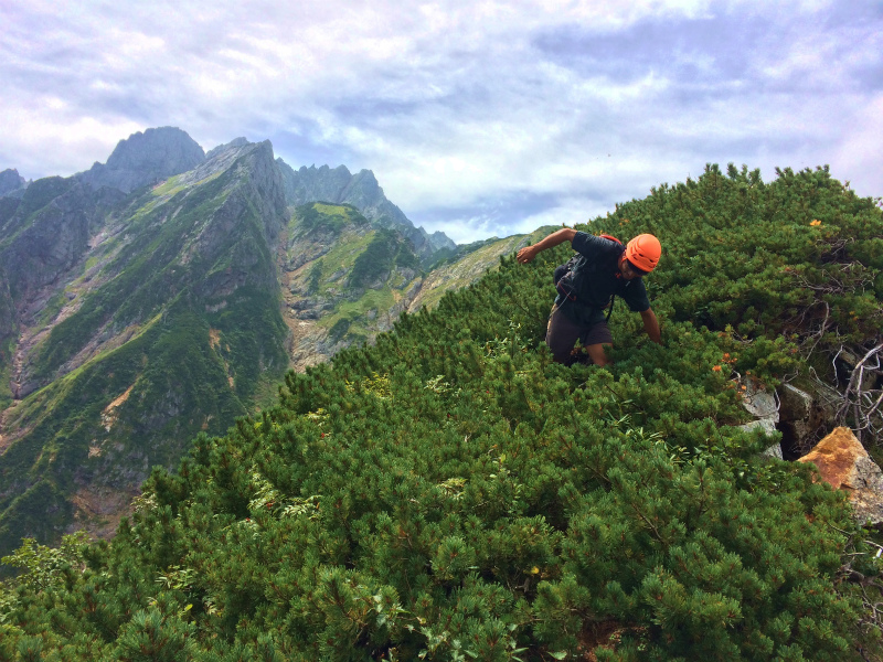 剱岳八ツ峰-北方稜線 Alpine Scrambling at Mt.Tsurugi Day.2 2016/09/01-03_b0220886_18194889.jpg