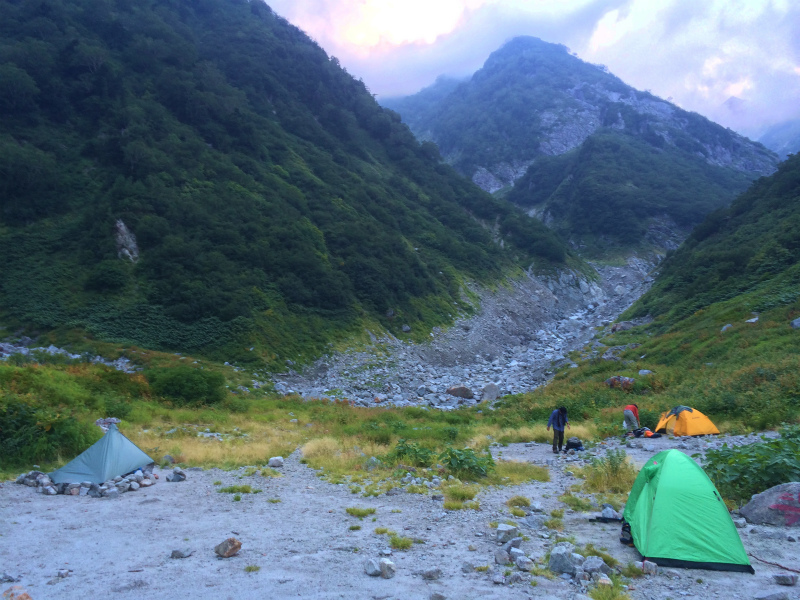 剱岳八ツ峰-北方稜線 Alpine Scrambling at Mt.Tsurugi Day.2 2016/09/01-03_b0220886_18335234.jpg