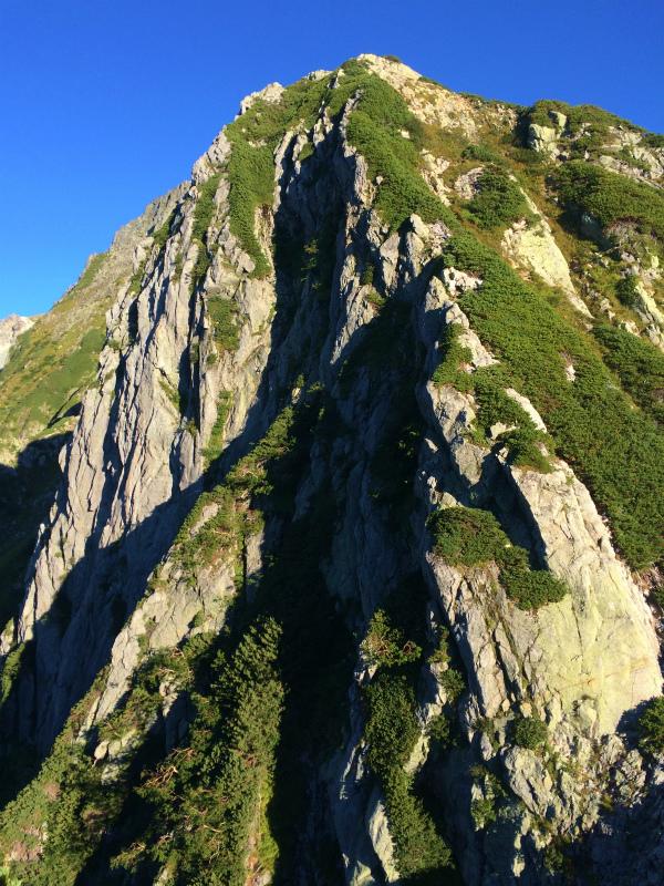剱岳源次郎尾根 Fastpacking+Alpine Scrambling at Mt.Tsurugi Day.3 2016/09/01-03_b0220886_21135158.jpg