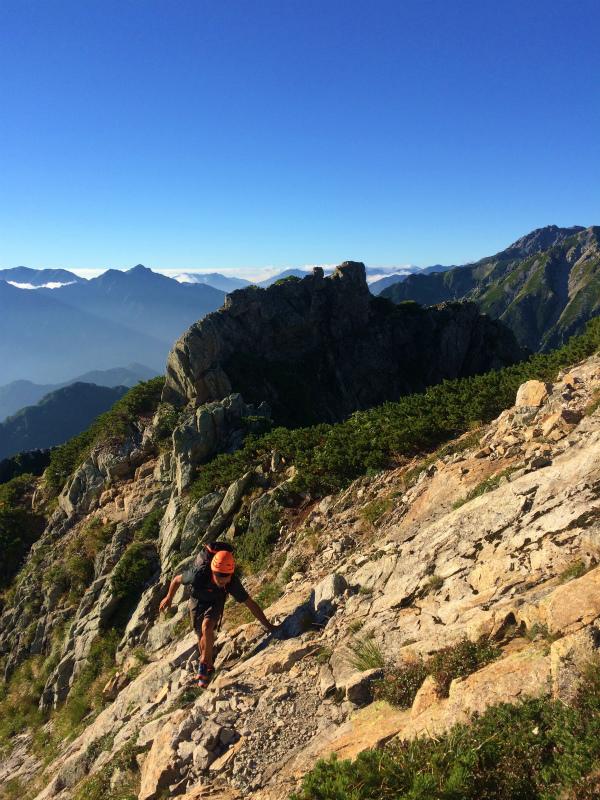 剱岳源次郎尾根 Fastpacking+Alpine Scrambling at Mt.Tsurugi Day.3 2016/09/01-03_b0220886_21142232.jpg