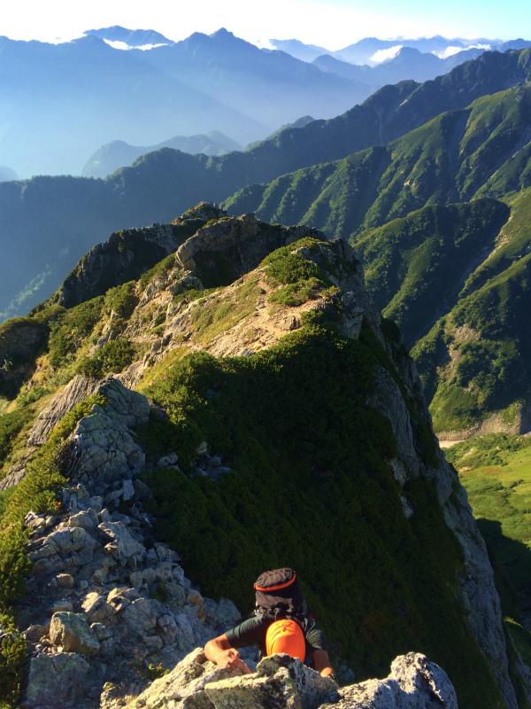 剱岳源次郎尾根 Fastpacking+Alpine Scrambling at Mt.Tsurugi Day.3 2016/09/01-03_b0220886_21143520.jpg