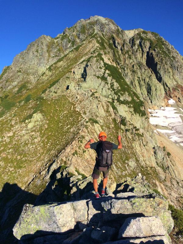 剱岳源次郎尾根 Fastpacking+Alpine Scrambling at Mt.Tsurugi Day.3 2016/09/01-03_b0220886_21145750.jpg
