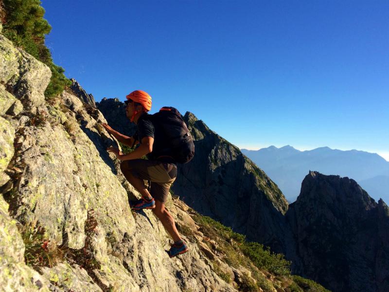 剱岳源次郎尾根 Fastpacking+Alpine Scrambling at Mt.Tsurugi Day.3 2016/09/01-03_b0220886_2114610.jpg