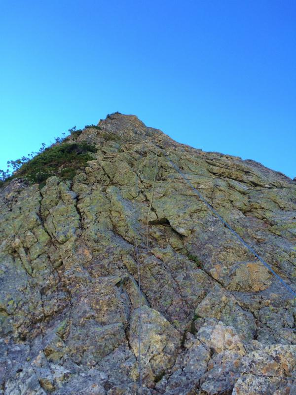 剱岳源次郎尾根 Fastpacking+Alpine Scrambling at Mt.Tsurugi Day.3 2016/09/01-03_b0220886_21151452.jpg