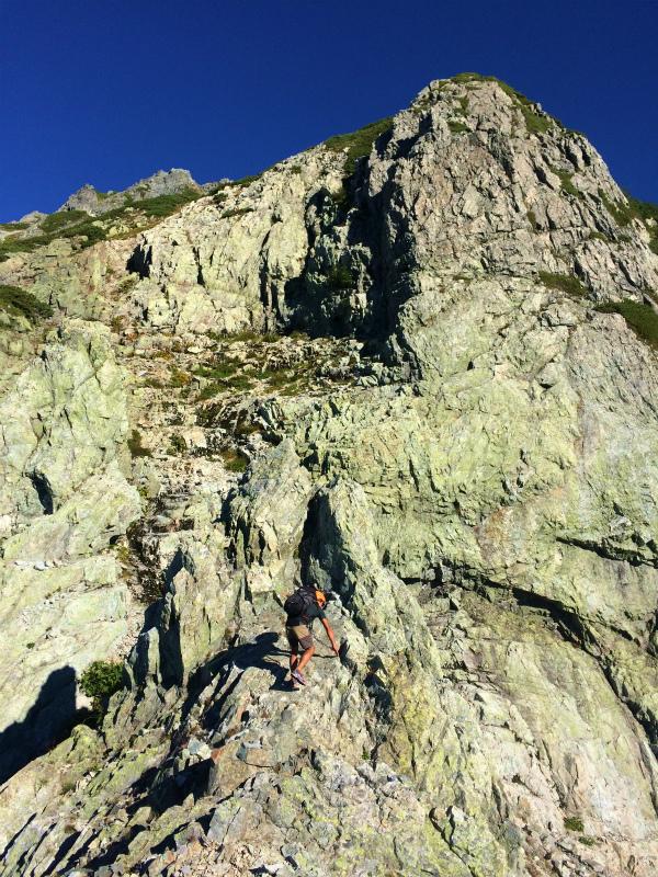 剱岳源次郎尾根 Fastpacking+Alpine Scrambling at Mt.Tsurugi Day.3 2016/09/01-03_b0220886_21152475.jpg