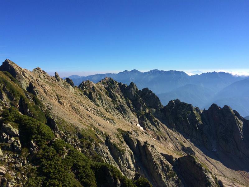 剱岳源次郎尾根 Fastpacking+Alpine Scrambling at Mt.Tsurugi Day.3 2016/09/01-03_b0220886_21162972.jpg