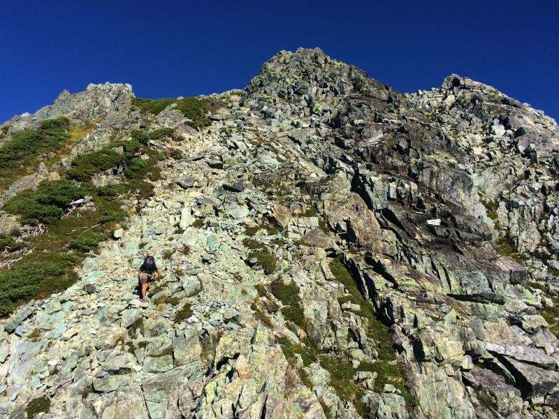 剱岳源次郎尾根 Fastpacking+Alpine Scrambling at Mt.Tsurugi Day.3 2016/09/01-03_b0220886_21164585.jpg