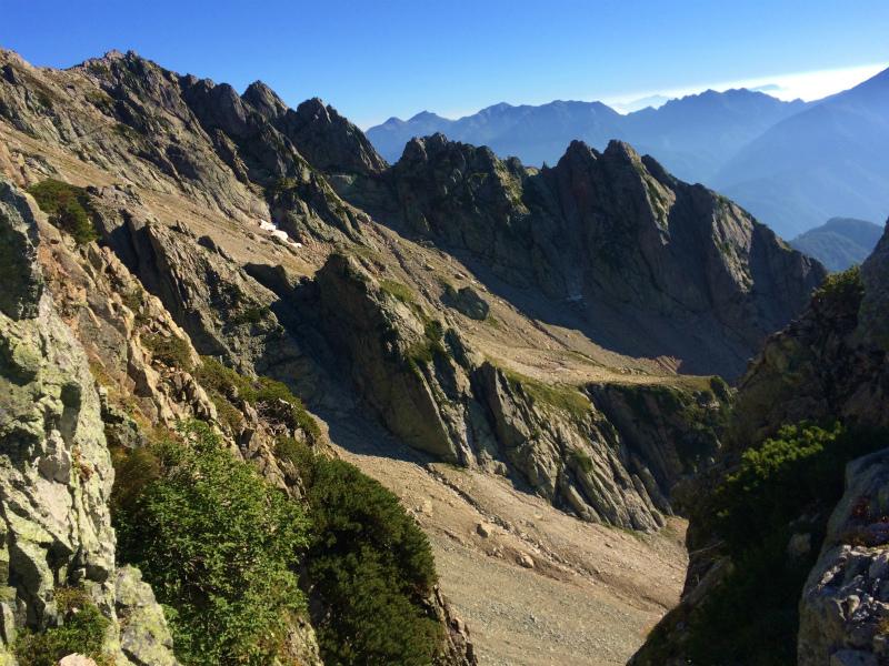 剱岳源次郎尾根 Fastpacking+Alpine Scrambling at Mt.Tsurugi Day.3 2016/09/01-03_b0220886_2116571.jpg