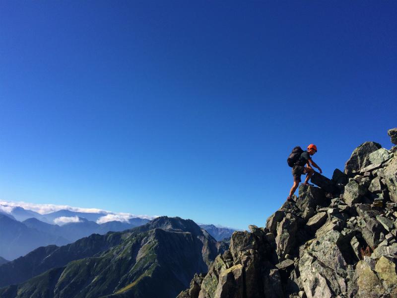 剱岳源次郎尾根 Fastpacking+Alpine Scrambling at Mt.Tsurugi Day.3 2016/09/01-03_b0220886_21165863.jpg
