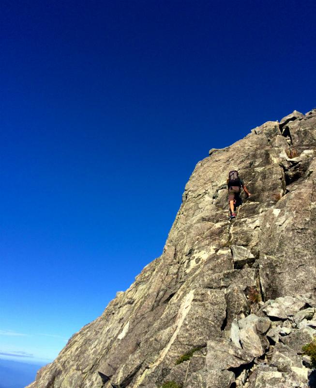 剱岳源次郎尾根 Fastpacking+Alpine Scrambling at Mt.Tsurugi Day.3 2016/09/01-03_b0220886_21171244.jpg