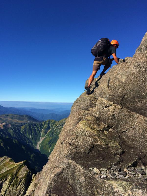 剱岳源次郎尾根 Fastpacking+Alpine Scrambling at Mt.Tsurugi Day.3 2016/09/01-03_b0220886_21172634.jpg