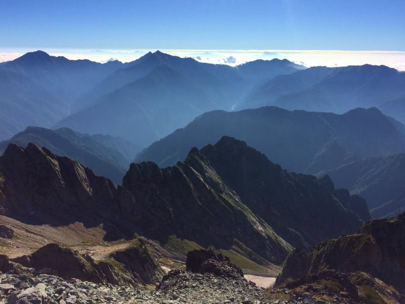剱岳源次郎尾根 Fastpacking+Alpine Scrambling at Mt.Tsurugi Day.3 2016/09/01-03_b0220886_21174317.jpg