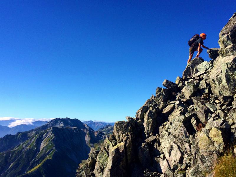 剱岳源次郎尾根 Fastpacking+Alpine Scrambling at Mt.Tsurugi Day.3 2016/09/01-03_b0220886_21333.jpg