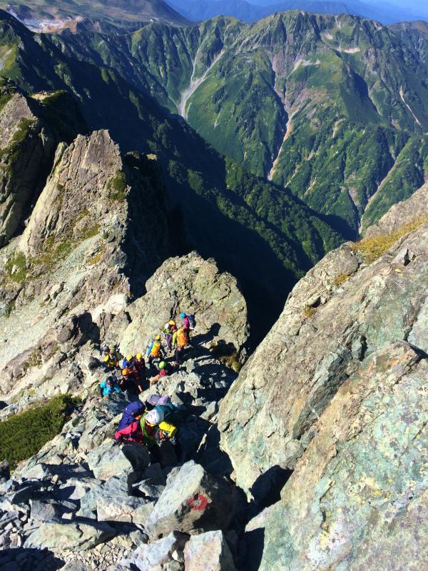 剱岳源次郎尾根 Fastpacking+Alpine Scrambling at Mt.Tsurugi Day.3 2016/09/01-03_b0220886_2142599.jpg