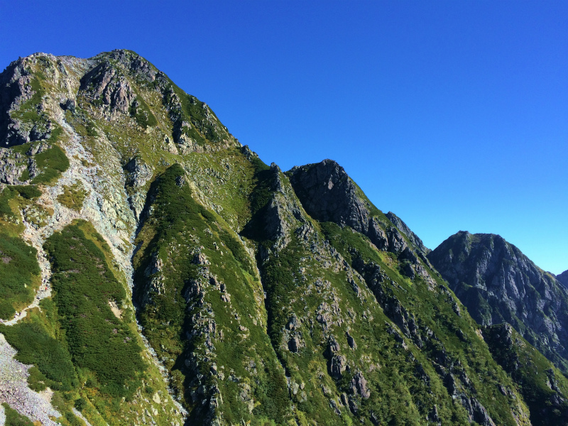 剱岳源次郎尾根 Fastpacking+Alpine Scrambling at Mt.Tsurugi Day.3 2016/09/01-03_b0220886_21431288.jpg