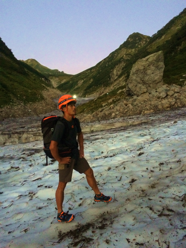 剱岳源次郎尾根 Fastpacking+Alpine Scrambling at Mt.Tsurugi Day.3 2016/09/01-03_b0220886_2153426.jpg