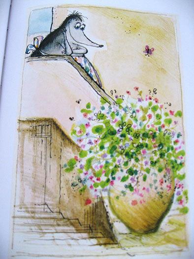 私の好きな絵本【ロナルド・サール/Les Très Riches Heures de Mrs Mole】_b0102193_23093840.jpg