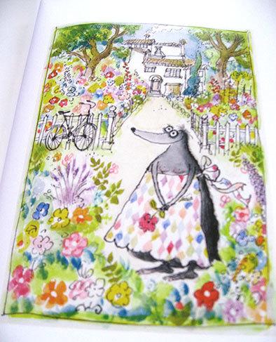 私の好きな絵本【ロナルド・サール/Les Très Riches Heures de Mrs Mole】_b0102193_23100930.jpg