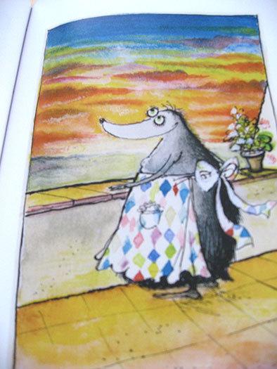 私の好きな絵本【ロナルド・サール/Les Très Riches Heures de Mrs Mole】_b0102193_23105279.jpg