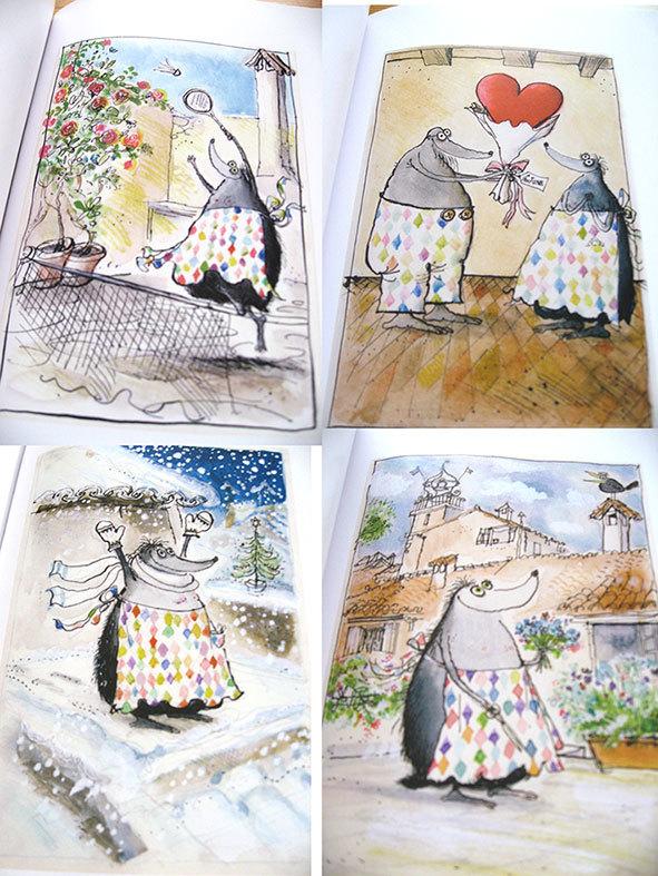 私の好きな絵本【ロナルド・サール/Les Très Riches Heures de Mrs Mole】_b0102193_23115413.jpg