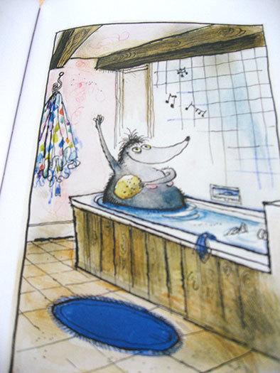 私の好きな絵本【ロナルド・サール/Les Très Riches Heures de Mrs Mole】_b0102193_23120562.jpg