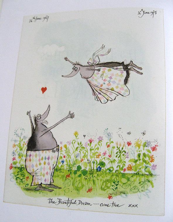 私の好きな絵本【ロナルド・サール/Les Très Riches Heures de Mrs Mole】_b0102193_23121600.jpg