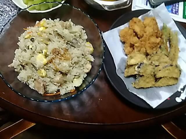 嫁の料理 栗ご飯_f0019498_6345022.jpg