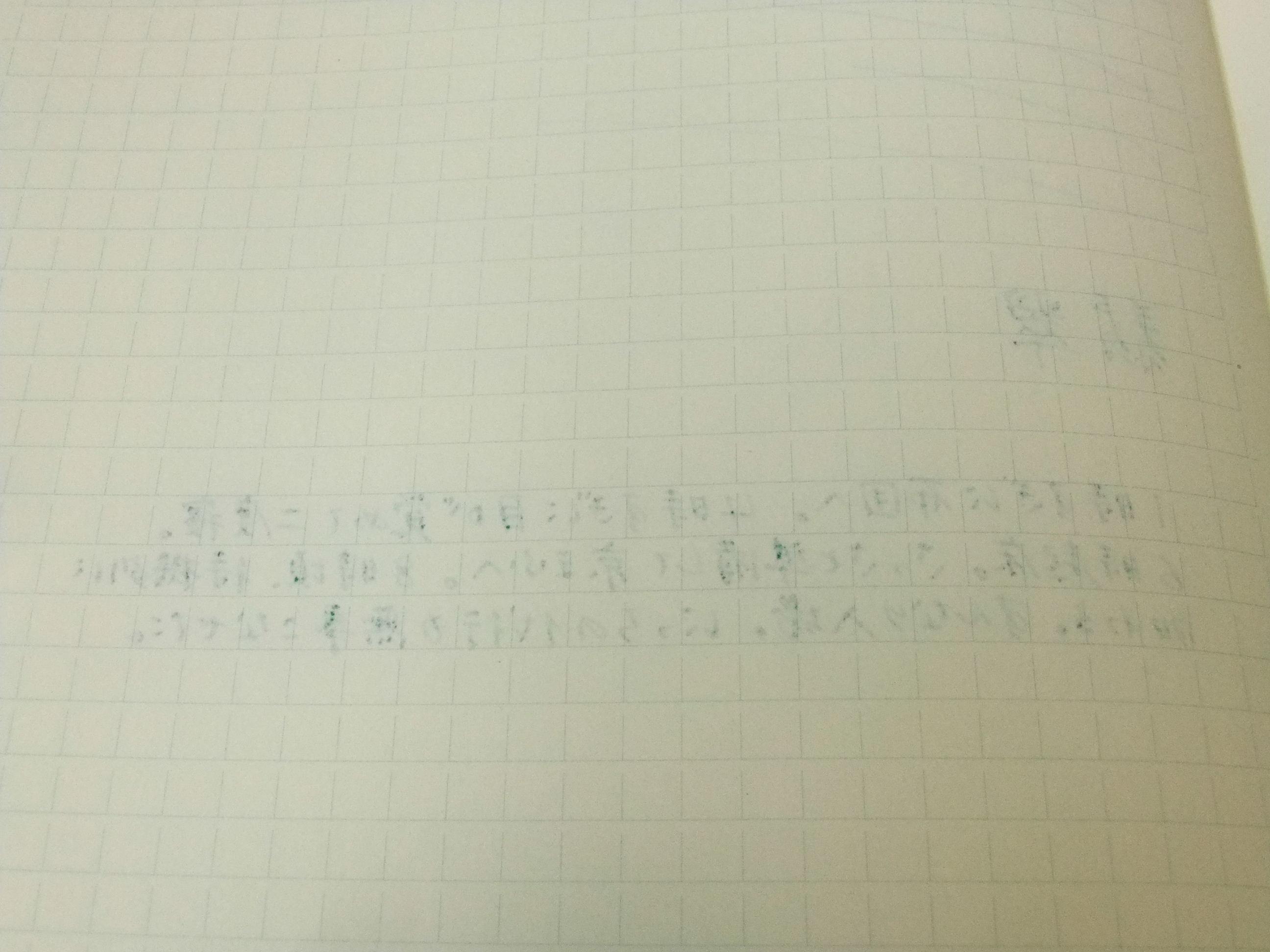 黒子のバスケ×セーラー万年筆~緑間真太郎モデル~(その2)_f0220714_2251617.jpg