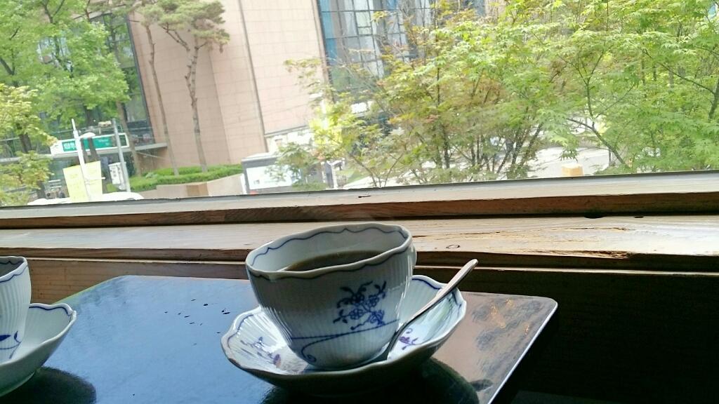 明洞 老舗カフェ「CAFE COIN」そしてバイバイ Seoul_a0187658_05514147.jpg