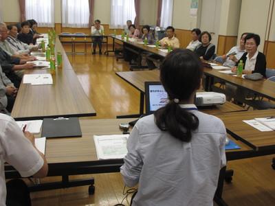「地域支え合い事業」開始による座談会を開催しました!_f0296368_1310262.jpg