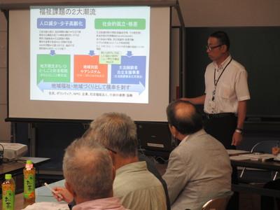 「地域支え合い事業」開始による座談会を開催しました!_f0296368_1365080.jpg