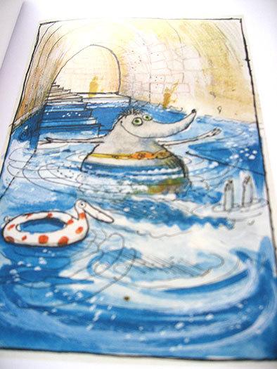 私の好きな絵本【ロナルド・サール/Les Très Riches Heures de Mrs Mole】_b0102193_00112330.jpg