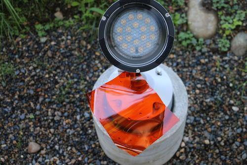 ライトアップのオレンジのフィルターを取り外す_c0075701_137126.jpg