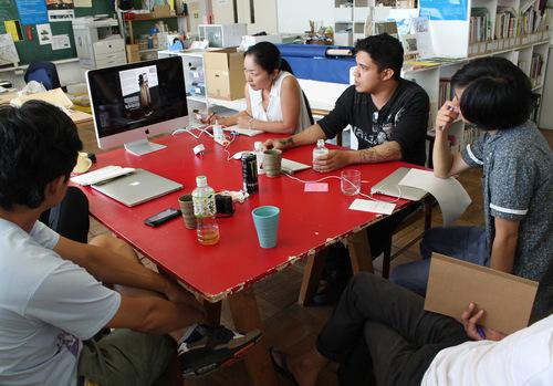 9/6 プレゼンテーション / First Presentation_a0216706_2035337.jpg