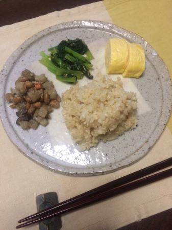 小松菜のごま和え_d0235108_07334536.jpg