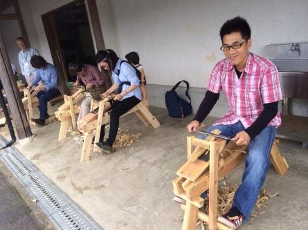 生木から創る木工体験!_f0101226_22482923.jpg