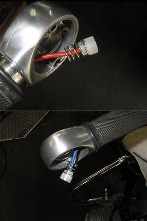 BMW R50/2 指示器の交換とキャリア_e0218639_1541577.jpg