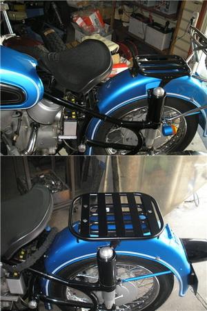 BMW R50/2 指示器の交換とキャリア_e0218639_15421156.jpg