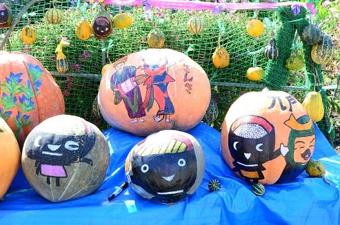 戸田かぼちゃ祭 岩手県九戸村戸田地区_c0299631_2318472.jpg