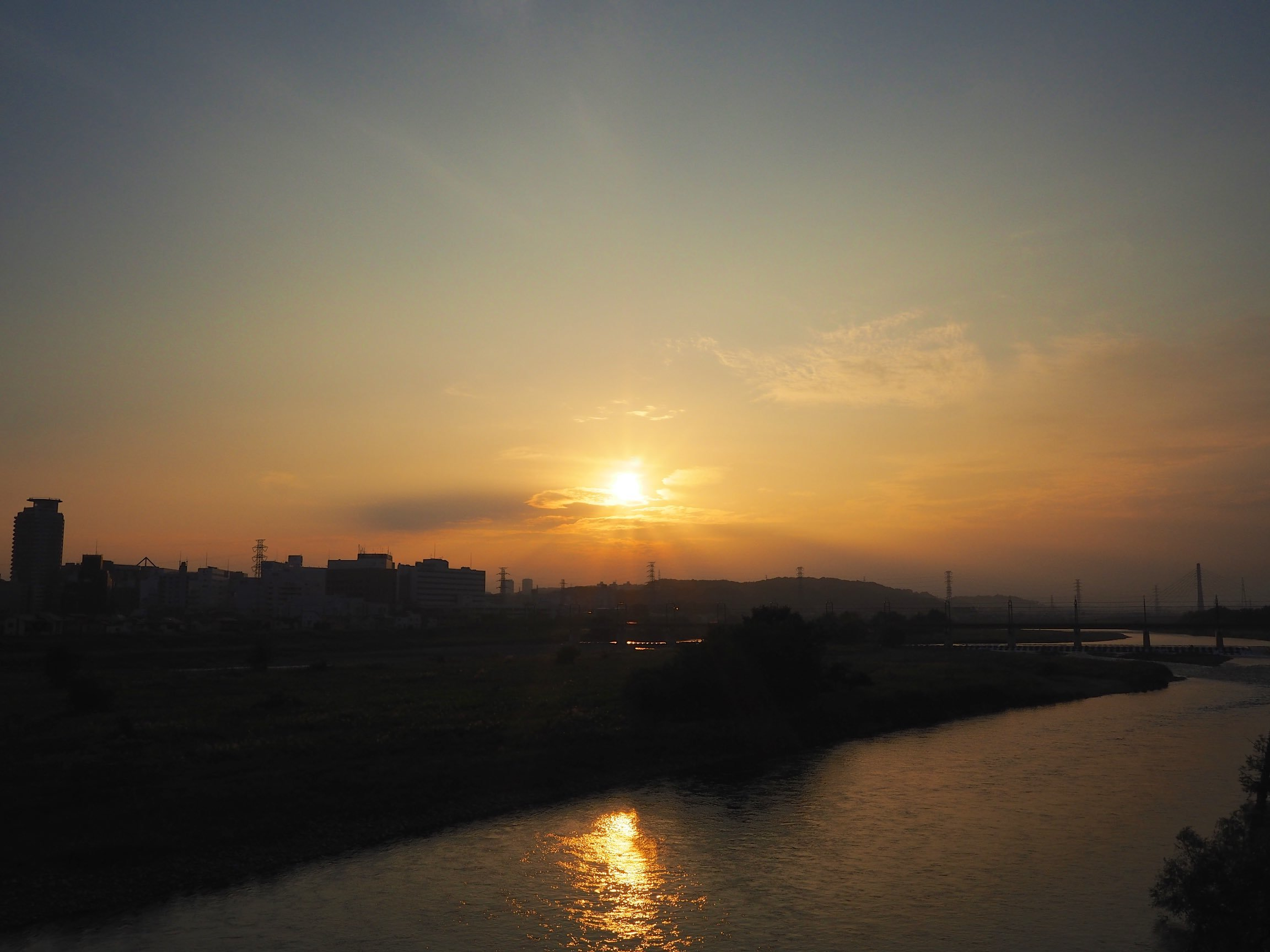 武蔵野 夕景 マイクロフォーサーズ&フルサイズ_b0360240_20194721.jpg