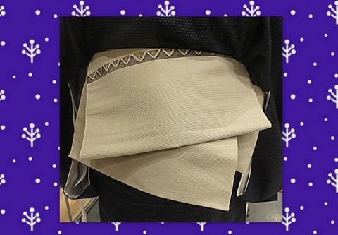 短い帯版「銀座結び」:衣香_f0205317_07170121.jpg